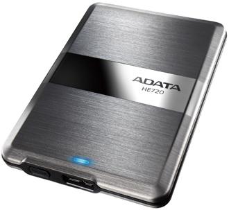 """ADATA HE720 1TB External 2.5"""" HDD titan"""