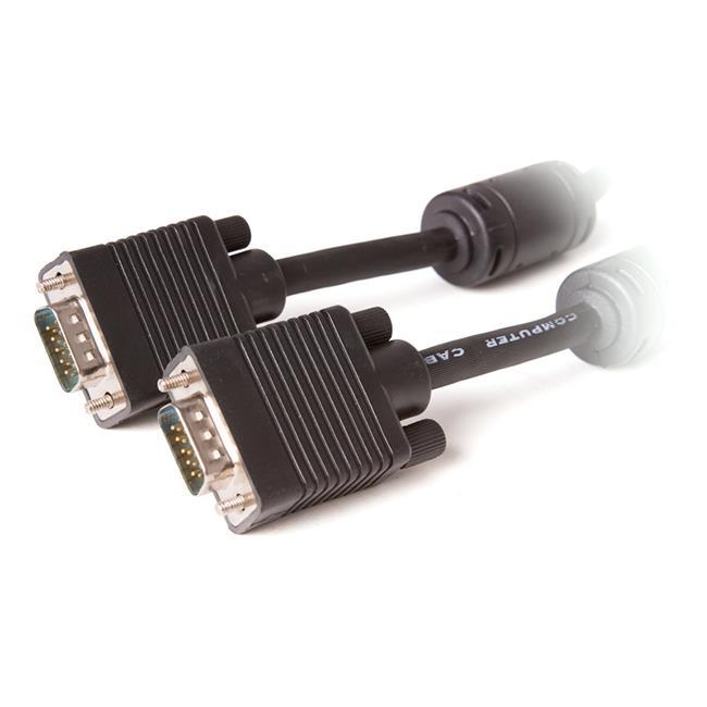Digitalbox BASIC.LNK kabel VGA 10m měděný, 2*feritový, trojitě stíněný