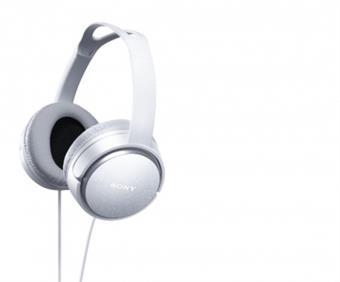 SONY MDR-XD150 - Hi-Fi sluchátka se 40mm jednotkou ovladače - WHITE