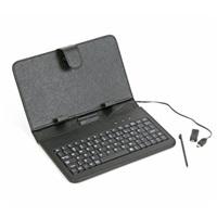 """klávesnice k tabletu OMEGA COVER pro 7"""" tablet & qwerty mini/micro USB černá"""