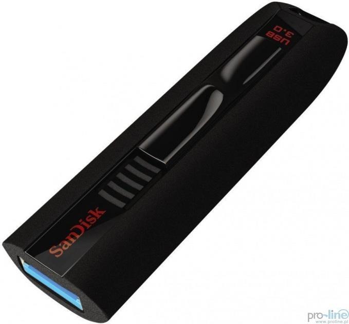 SanDisk Extreme 64GB USB 3.0 flashdisk (čtení až 245MB/s; zápis: 190MB/s)