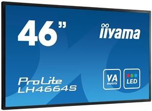 "46"" LCD iiyama ProLite LH4664S, DVI,HDMI,RS232C"