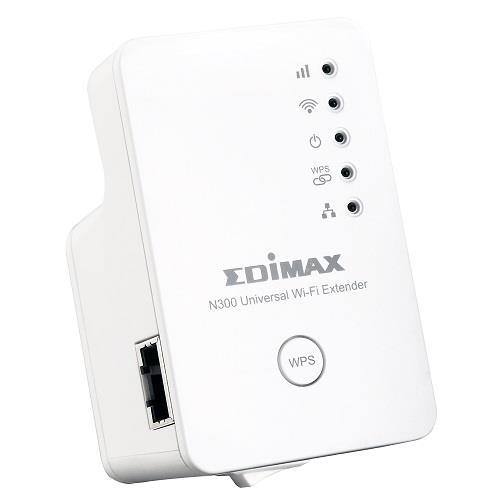 Edimax 802.11b/g/n N300 Universal 3in1 Wi-Fi Extender/ Repeater, AP, Bridge