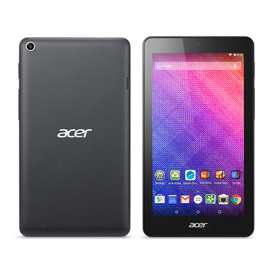 "Acer Iconia One 7 (B1-790-K7SG) MTK MT8163/7"" IPS Touch/1280x720 HD/1GB/eMMC 16GB/BT/Android 7.0 /Black"