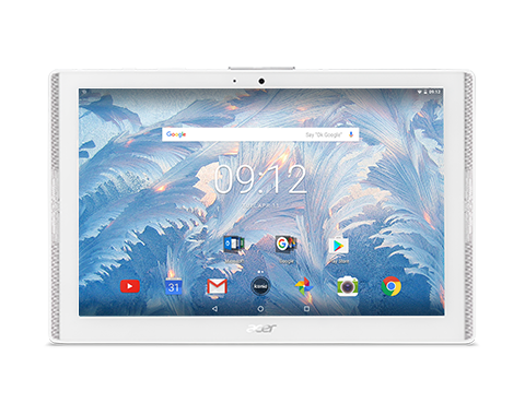 "Acer Iconia One 10 (B3-A40-K3HZ) MTK MT8167/ 10"" HD/2GB/16GB/GPS/Wifi AC with Bluetooth/Android 7.0/White"