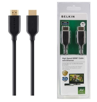 BELKIN Gold High-speed HDMI kabel s Ethernet a podporou 4K/UltraHD, 2m