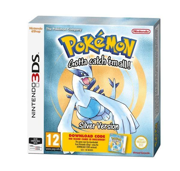 Nintendo 3DS Pokémon Silver DCC