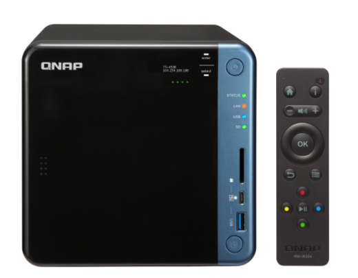QNAP TS-453BU-4G (1,5GHz/4GB RAM/4xSATA/4xGbE)