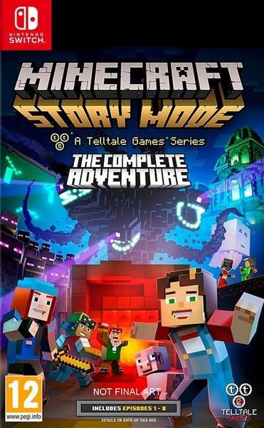 Nintendo SWITCH Minecraft Story Mode:The Complete Adventure