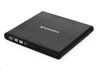 VERBATIM Mobile DVD-RW Rewriter USB 2.0 Black mechanika