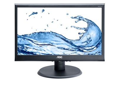 "AOC LCD e2070Swn 19,5""wide/1600x900/5ms/20mil:1/VGA/LED"