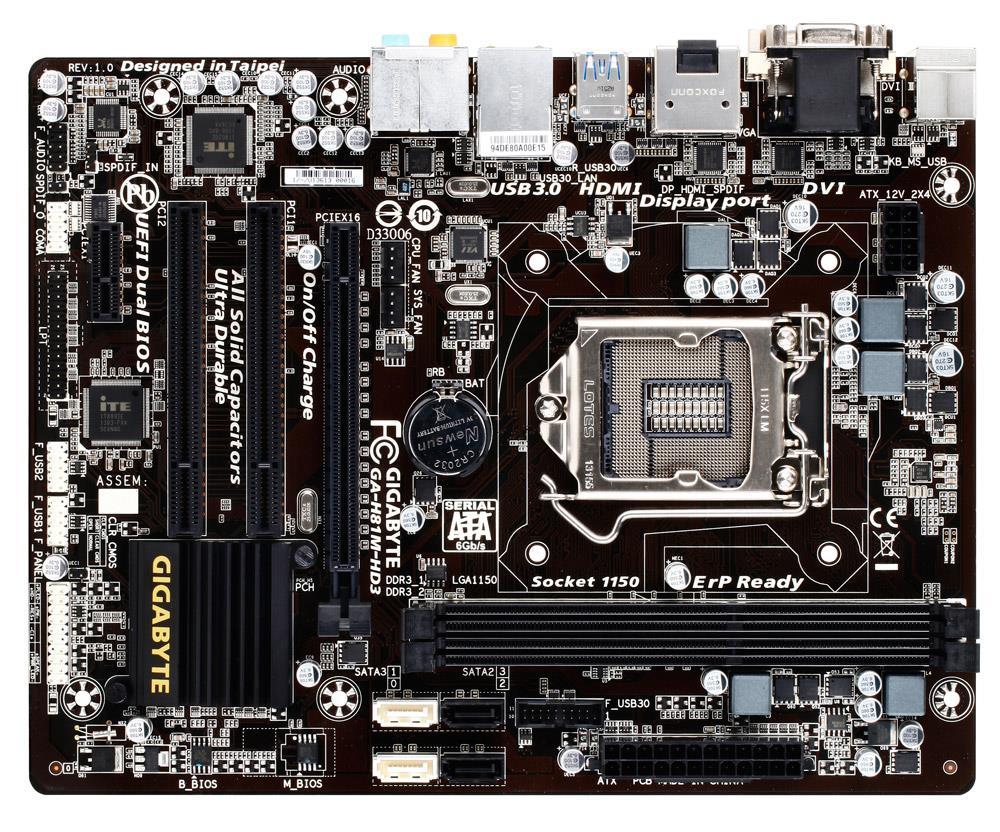 GIGABYTE H81M-HD3 (rev. 2.0)