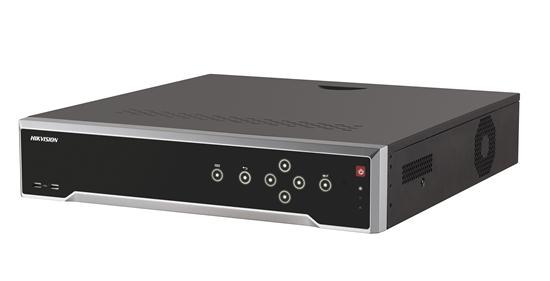 HIKVISION NVR, 32 kanálů, 4x HDD (až 8TB), 4K UHD, 2x USB, 1xHDMI a 1xVGA výstup, 16xDI,4xDO, audio in/out