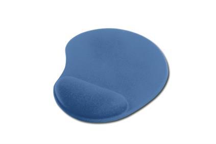 Ednet. - gelová podložka pod myš, modrá 1kus