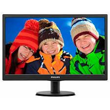 "Philips LCD 193V5LSB2 18,5""wide/1366x768/5ms/10mil:1/VGA/LED"