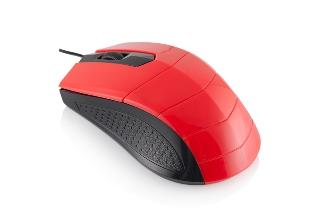 LOGIC optická myš LM-13 (červeno-černá)