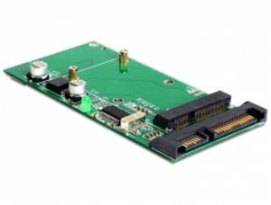 Delock adaptér SATA 22 pin / USB 2.0 na mSATA full size
