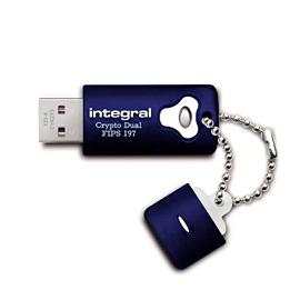 INTEGRAL Crypto Dual 32GB USB 2.0 flashdisk, AES 256 bit šifrování, FIPS 197