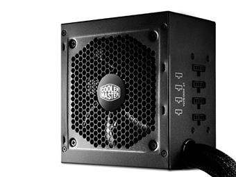 CoolerMaster zdroj GM 550W PFC v2.3, 12cm fan, 80 Plus Bronze, modular