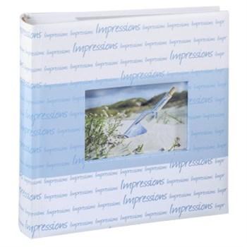 Hama album memo LA VIDA 10x15/200, modré, popisové pole