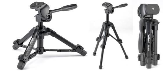 Velbon EX-Mini - jednopáková 2-osá hlava bez rychloupínání