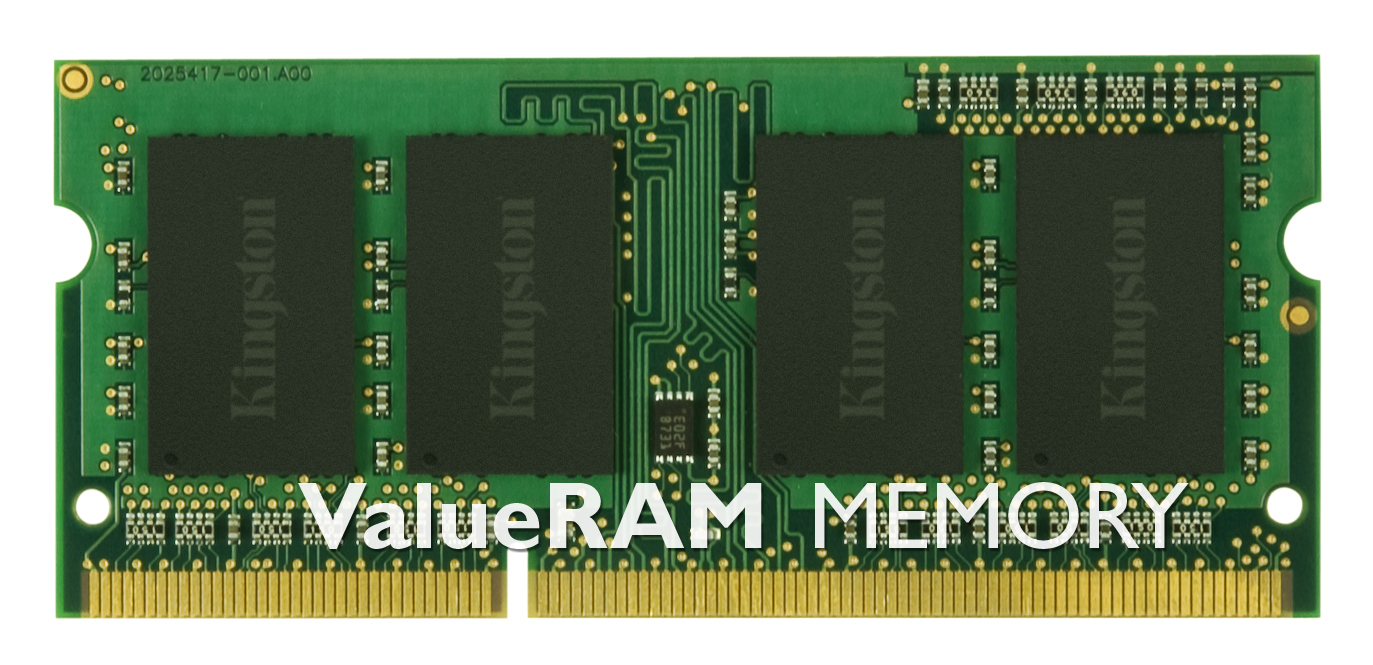 KINGSTON 8GB 1333MHz DDR3 Non-ECC CL9 SODIMM SR x8 (Kit of 2)