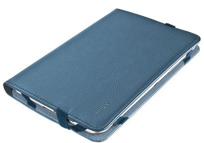 "TRUST Pouzdro na tablet 7-8"" Verso Universal Folio Stand for tablets - blue, modré"