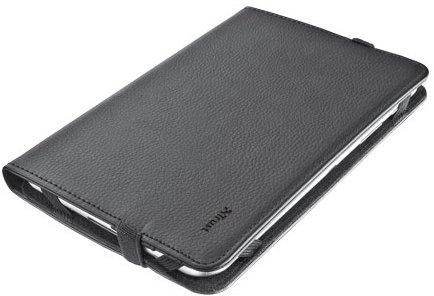 "TRUST Verso Univ folio Stand 7-8"" tablets, black"