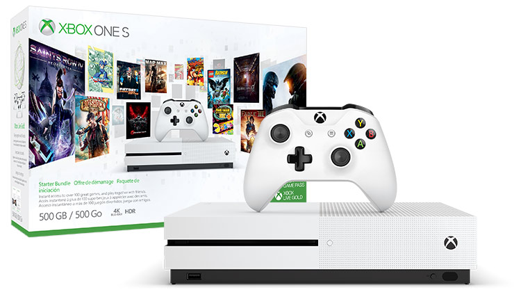 Microsoft Xbox One S 500GB
