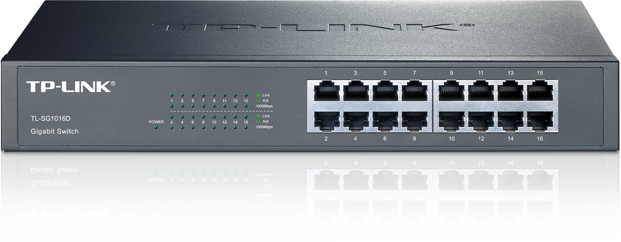 TP-Link TL-SG1016D 16x Gigabit Switch