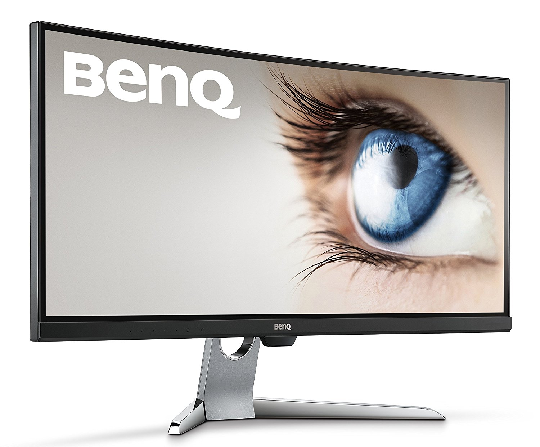 BenQ LCD EX3501R 35'' wide/VA LED/3440x1440/ 20M:1/4ms/HDMI/DP/USB-C/BrightIntelligence+