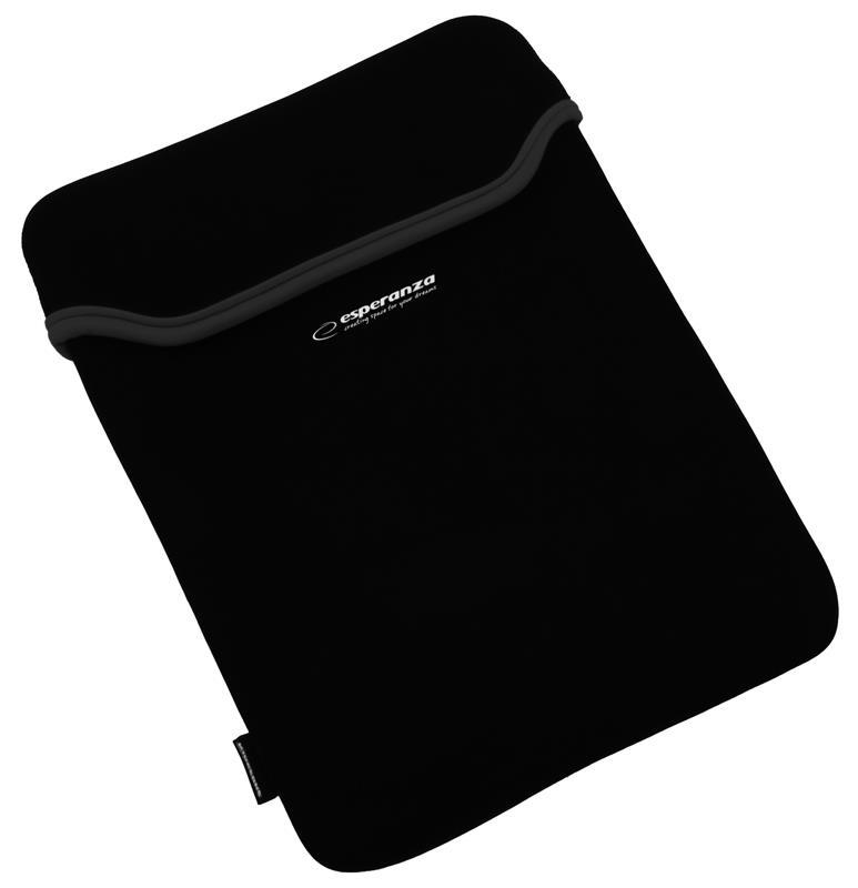 Esperanza ET174K pouzdro pro notebook 15.6'', 3mm neoprén, černé