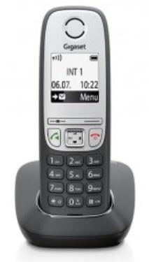 SIEMENS Gigaset A415 - DECT/GAP bezdrátový telefon, barva černá