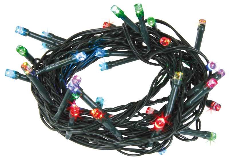 Emos LED dekorační řetěz LED-40 MC, 40x LED, 4 m, IP44, multicolor