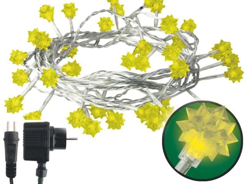 Emos LED dekorační řetěz LED-40 WW, 40x LED - diamanty, 4 m, IP44, teplá bílá