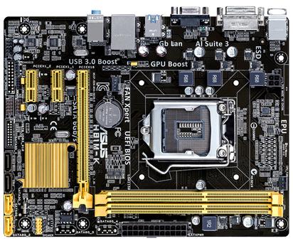 ASUS MB Sc LGA1150 H81M-K, Intel H81, 2xDDR3, VGA, mATX