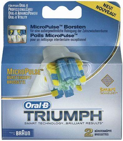 Kartáčky náhradní Braun Oral-B EB 25-2 Micropulse