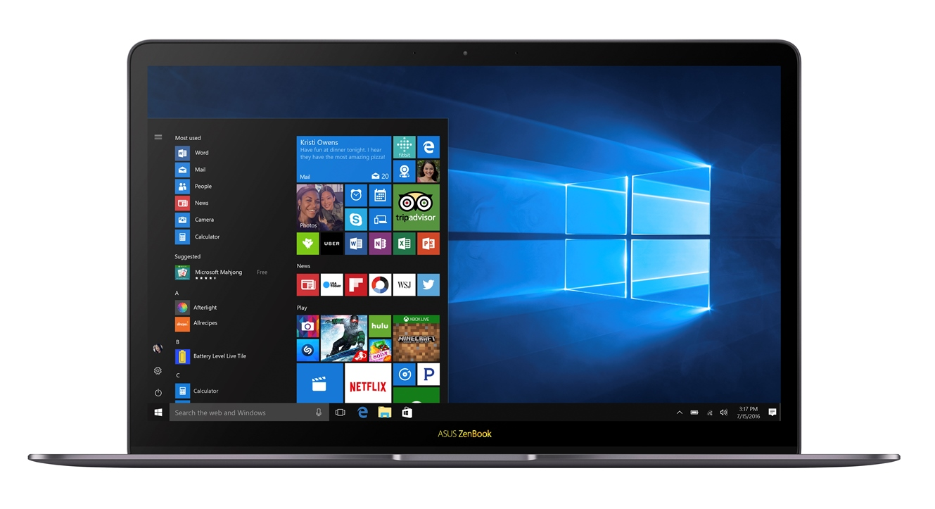 "ASUS UX490UAR-BE111T i7-8550U/16GB/512 GB M.2 SSD/UHD Graphics 620/14"" FHD IPS lesklý/BT/W10 Home/Gray"