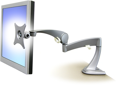 "ERGOTRON Neo-Flex LCD Arm - stolní rameno, max 23"" LCD, silver"