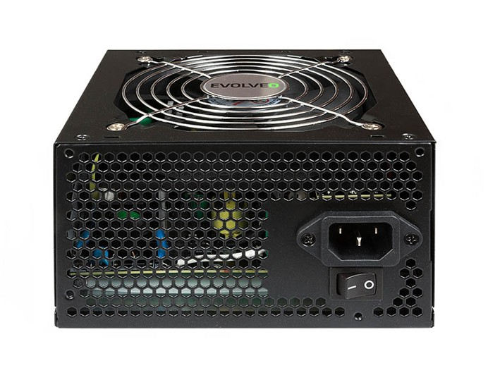 EVOLVEO zdroj 500W ATX 2.2, pasivní PFC, 4x SATA konektor , bulk