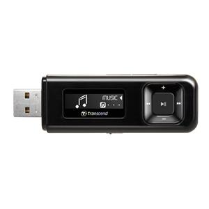 Transcend 8GB Flash MP3 Přehrávač T-Sonic 330, černý
