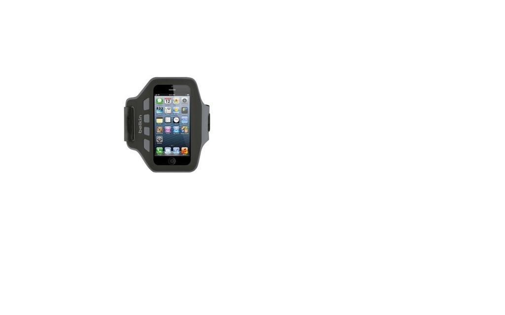 Belkin iPhone 5/5s/5c/SE sportovní pouzdro Slim-Fit Plus, černé