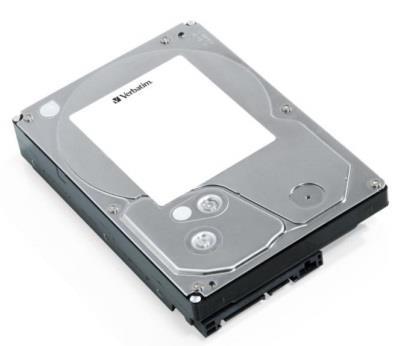 Verbatim interní HDD SATA3, 3,5'' 3TB, 7200RPM, 64MB Cache, retail