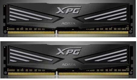 DIMM DDR3 8GB 1600MHz CL9 512x8 (KIT 2x4GB) ADATA XPG V1.0 Black, retail