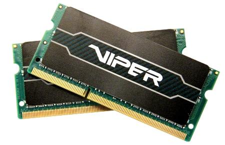 SO-DIMM 8GB Patriot DDR3 1600Mhz XMP CL9, kit 2x4G