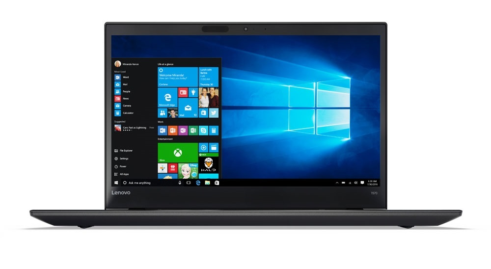"Lenovo ThinkPad T570 i7-7500U/8GB/512GB SSD/HD Graphics 620/15,6"" FHD IPS/Win10PRO/black"