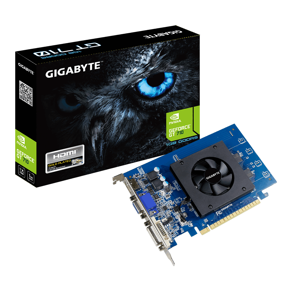 GIGABYTE GT 710 Ultra Durable 2 1GB D5