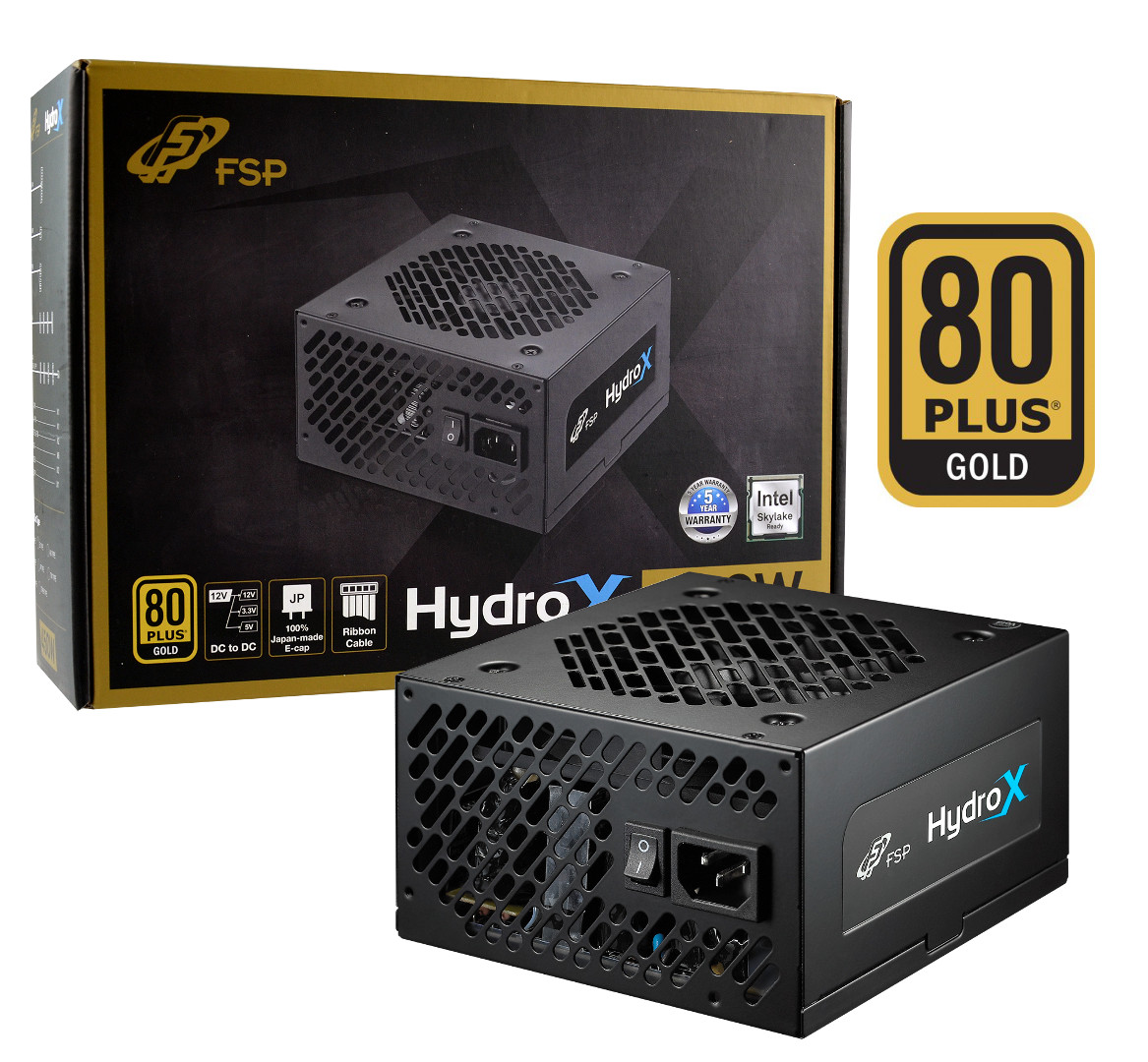 Fortron HYDRO X 550W 80PLUS GOLD