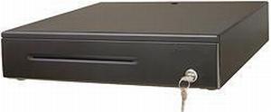 Pokl.zásuvka DOXY PZ2402, černá, včetně kabelu 24V, kovové držáky bankovek