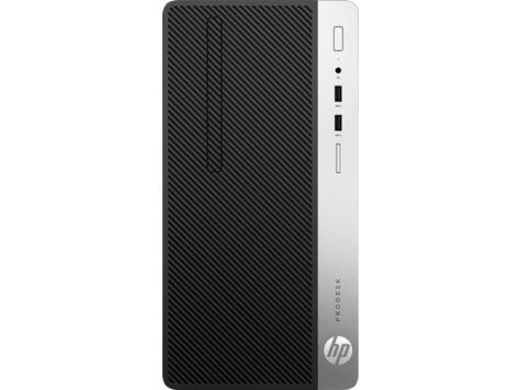 HP ProDesk 400G4 MT i5-7500, 1x8GB, HDD 1 TB, Intel HD, usb kláv. a myš, DVDRW, 180W bronze, Win10Pro